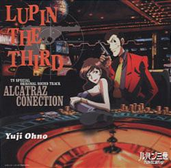 Lupin the Third Alcatraz Connection TV Special Original Soundtrack CD cover